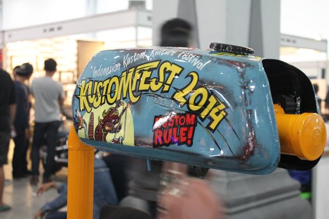 custom motorbike 2014